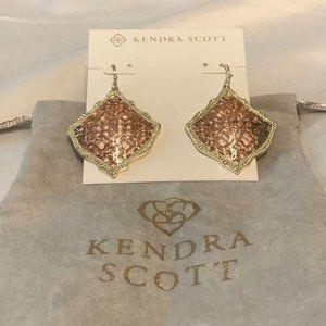 Kendra Scott Jewelry - 🆕Kendra Scott Kirsten Drop Earrings In Rose Gold
